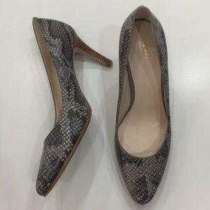 New Arrival✨Cole Haan Snake Skin Heels